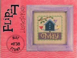 Flip-It Stamp May - Cross Stitch Pattern