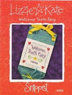 Welcome Tooth Fairy - Cross Stitch Pattern