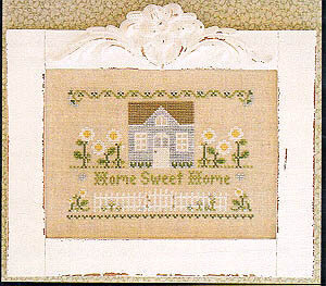Daisy Lane Cottage - Cross Stitch Pattern