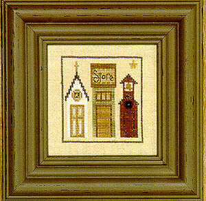 Snapperville - Main Street - Cross Stitch Pattern