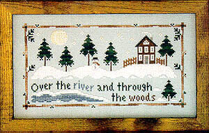 Through the Woods - Cross Stitch Pattern