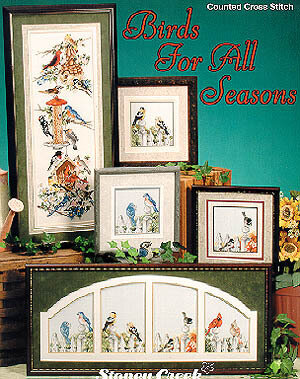 Birds For All Seasons - Cross Stitch Pattern