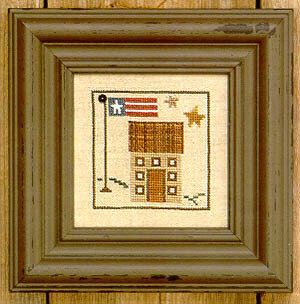 Snapperville - Town Hall - Cross Stitch Pattern