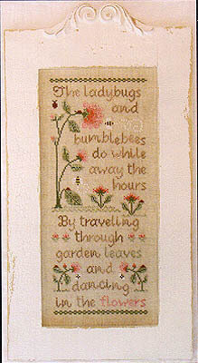 Ladybugs And Bumblebees - Cross Stitch Pattern