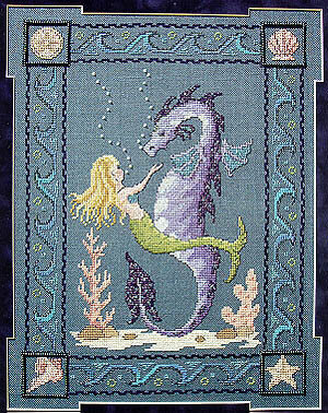 Dragon Of The Deeps - Cross Stitch Pattern
