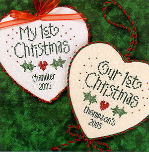 1st Christmas - Cross Stitch Pattern