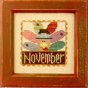 Flip-It Stamp November - Cross Stitch Pattern