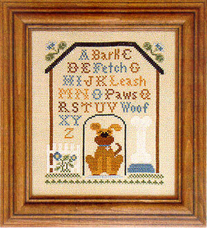 Dog House Sampler - Cross Stitch Pattern
