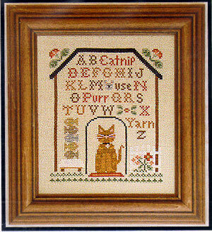 Kitty Cottage Sampler - Cross Stitch Pattern