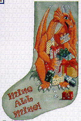 Mine All Mine (Stocking) - Cross Stitch Pattern