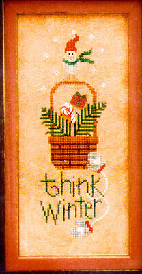 Think Winter - Cross Stitch Pattern