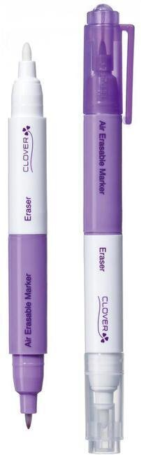 Purple Air-Erasable Marker W/Eraser