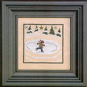 Winter Snapperland - Ze Rink - Cross Stitch Pattern