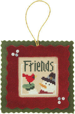 Flip-It Friends - Cross Stitch Pattern