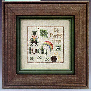 Lucky Spots - Cross Stitch Pattern