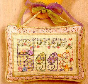 Eggs - Cross Stitch Pattern