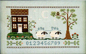 Counting House - Cross Stitch Pattern