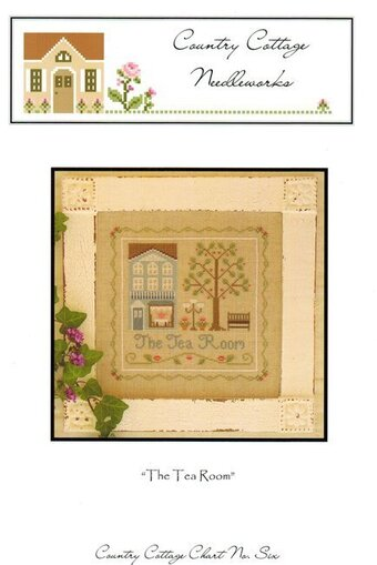Tea Room - Cross Stitch Pattern