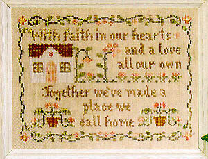 Place We Call Home - Cross Stitch Pattern