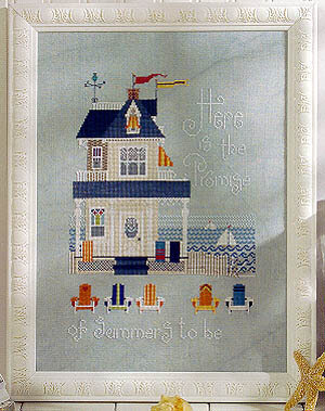 Summer Place, A #264 - Cross Stitch Pattern