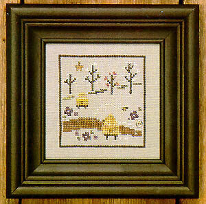 Hive - Spring Snapperland - Cross Stitch Pattern