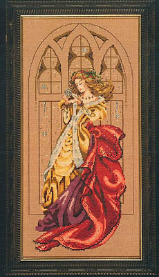 White Christmas - Mirabilia Cross Stitch Pattern