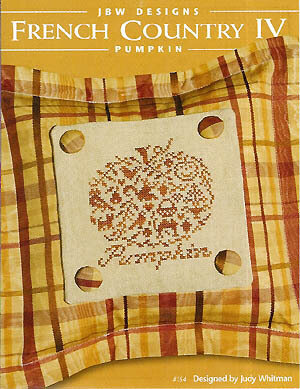 French Country IV-Pumpkin - Cross Stitch Pattern