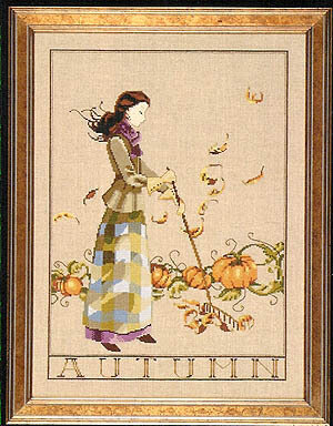 Autumn in my Garden - Mirabilia Cross Stitch Pattern