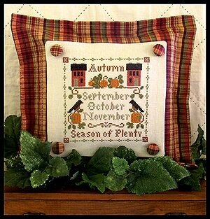 Season Of Plenty - Cross Stitch Pattern