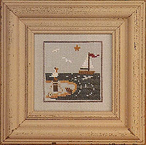 Summer Snapperland - Beach - Cross Stitch Pattern