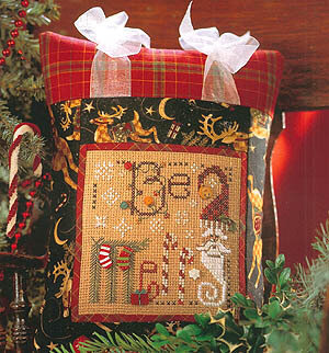 Be Merry - Cross Stitch Pattern