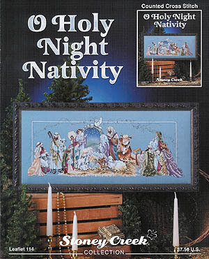 O Holy Night Nativity - Cross Stitch Pattern