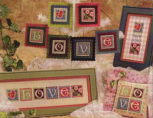 Love Crazy - Cross Stitch Pattern