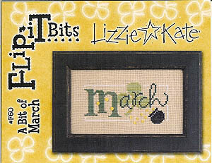 Flip-It Bits March - Cross Stitch Pattern