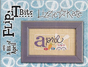 Flip-It Bits April - Cross Stitch Pattern