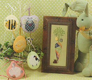 Soft Boiled - Cross Stitch Pattern
