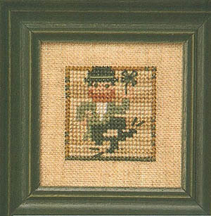 Littles - Leprechaun - Cross Stitch Pattern