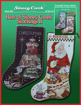 Best of Stoney Creek Stockings II - Cross Stitch Pattern