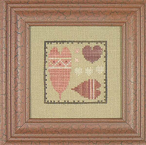 Hodgepodge Hearts (Bits N Pieces) - Cross Stitch Pattern