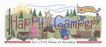 Happy Camper (1975) - Cross Stitch Pattern