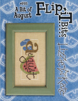 Flip-It Bits August - Cross Stitch Pattern