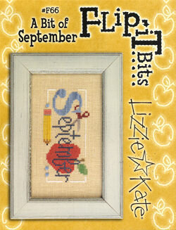 Flip-It Bits September - Cross Stitch Pattern