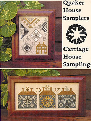Quaker House Samplers - Cross Stitch Pattern