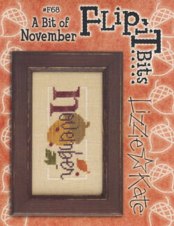 Flip-It Bits November - Cross Stitch Pattern