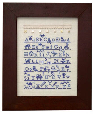 French Country ABC's - Cross Stitch Pattern