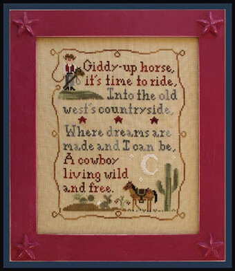 Cowboy Dreams - Cross Stitch Pattern