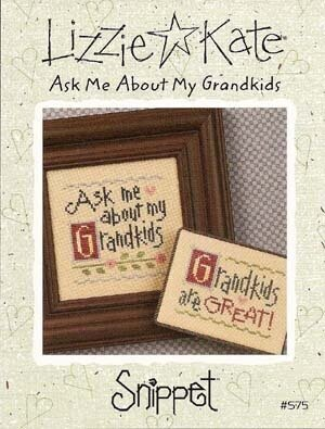 Ask Me About My Grandkids - Cross Stitch Pattern