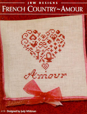 Jbw Designs French Country Amour Cross Stitch Pattern