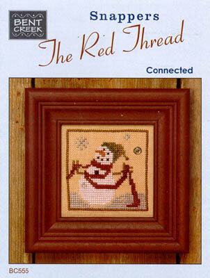 Snappers Red Thread  - Connected - Cross Stitch Pattern