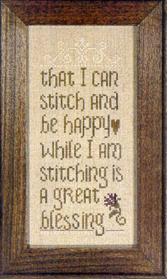 Stitcher's Blessing - Cross Stitch Pattern